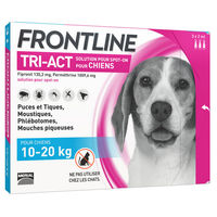 FRONTLINE Tri-act Chiens 10-20kg - 3 pipettes