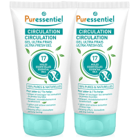 Puressentiel Circulation Gel Ultra Frais - Lot de 2