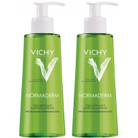 VICHY NORMADERM Gel Nettoyant Purifiant 2x400ml