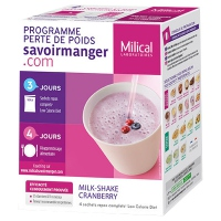 Milical Milk-shake Cranberry - 4 sachets