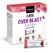 STC NUTRITION Over Blast Finish Fruits Rouges 10 gels