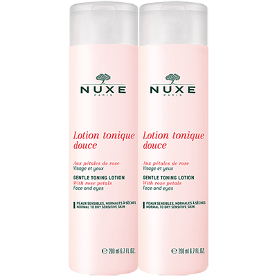 NUXE Lotion Tonique Douce - 2x200ml