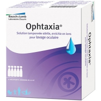 Ophtaxia Solution de Lavage Oculaire - 10x5ml
