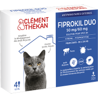 CLEMENT THEKAN Fiprokil Duo Chat