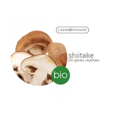 L'HERBOTHICAIRE Shiitake - 200 gélules