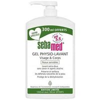 SEBAMED Gel Physio-Lavant 1L dont 300ml OFFERTS