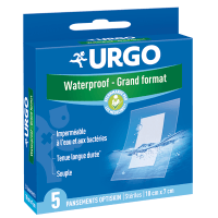 URGO Waterproof Grand Format - 5 pansements
