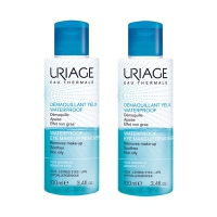 URIAGE Démaquillant Yeux Waterproof - 2x100ml