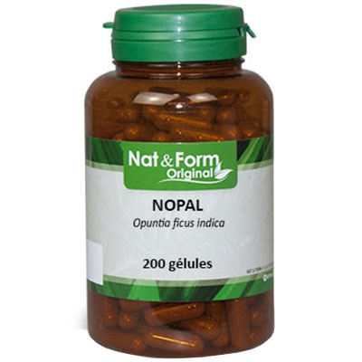 NAT & FORM Original Nopal - 200 gélules