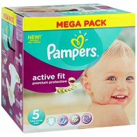 PAMPERS Active Fit 11-25kg Taille 5 - 68 couches