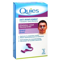 QUIES Anti-ronflement Dilatateur Nasal Grand