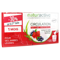 NATURACTIVE Circulation - 2 x 15 Sticks