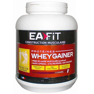 EAFIT Whey Gainer Vanille - 750g