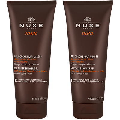 NUXE Men Gel Douche Multi-Usages - 2x200mll