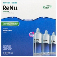 RENU MultiPlus Solution Multifonctions - 3x360ml