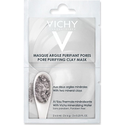 VICHY Masque Argile Purifiant Pores - 2x6ml