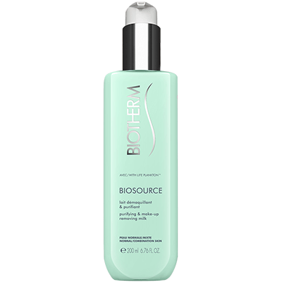 BIOTHERM Biosource Lait Démaquillant Purifiant - 200ml