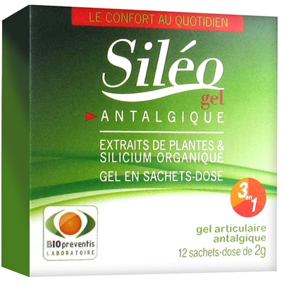 SILEO Gel Articulaire - 12 sachets x 2g
