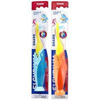 ELGYDIUM Brosse à Dents Shark 2-6ans