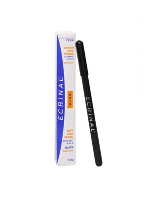 ECRINAL Crayon Mine Tendre Waterproof Noir