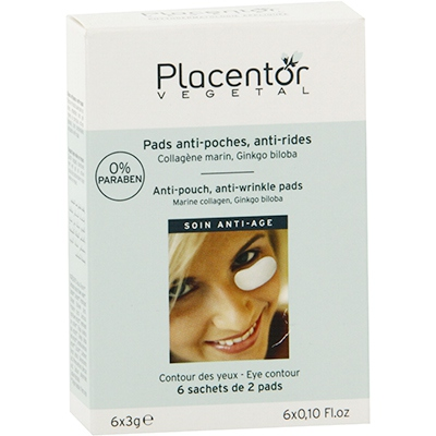 PLACENTOR VEGETAL Pads Yeux anti-poches anti-rides x12