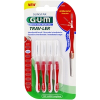 GUM Travler Brossettes Interdentaires 1314 x4