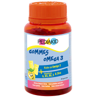 PEDIAKID Gommes Oméga 3 - 60 oursons