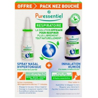 PURESSENTIEL Inhaleur + Spray nasal