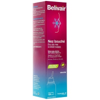 BELIVAIR Nez Bouché Spray Nasal Adultes - 125 ml