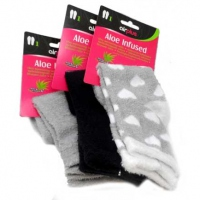 AIRPLUS Chaussettes Aloe Vera Grise