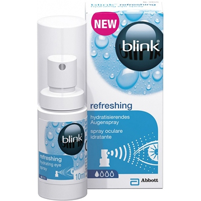 BLINK Refreshing Spray Oculaire Hydratant 10ml