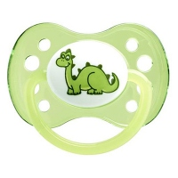 DODIE Sucette Anatomique Silicone +6mois Dinosaure