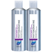 PHYTO Phytokeratine Shampooing Cheveux Cassants Duo - 2x200ml