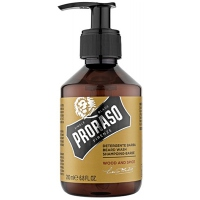 PRORASO Shampooing pour Barbe Wood and Spice - 200ml