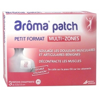 AROMA PATCH Multi-zones Petit Format - 3 patchs