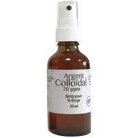 DR. THEISS Spray gorge Argent colloïdal 20ppm - 50ml