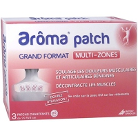 AROMA PATCH Multi-zones Grand Format - 3 patchs