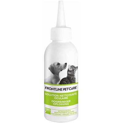 FRONTLINE Pet Care Solution Nettoyante Oculaire - 125ml