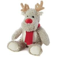 SOFRAMAR Bouillotte Peluche Micro ondes - Renne