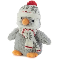 SOFRAMAR Bouillotte Peluche Micro ondes - Pingouin