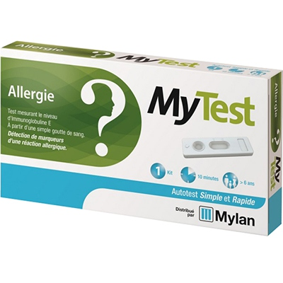 MYLAN Mytest Autotest Allergie IgE Test - 1 Kit