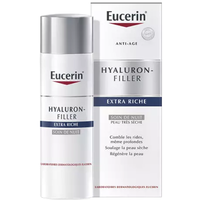 EUCERIN Hyaluron Filler Extra-Riche Nuit - 50ml