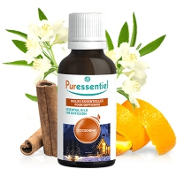 PURESSENTIEL Huiles Essentielles pour diffusion Cocooning - 30ml