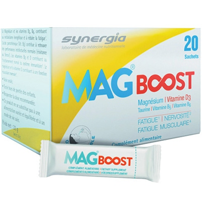 SYNERGIA Mag Boost Orodispersible - 20 sachets