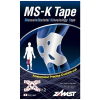 ZAMST MS-K Tape Soutien musculaire genoux - 2 Tapes