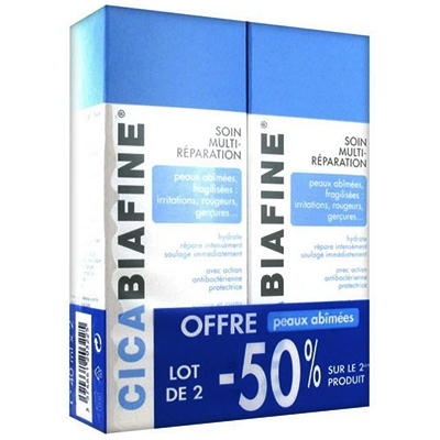 CICABIAFINE Baume multi-réparation - 2 x 40 ml
