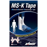 ZAMST MS-K Tape Soutien musculaire cheville - 2 Tapes