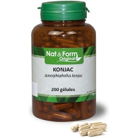 NAT & FORM Original Konjac - 200 Gélules
