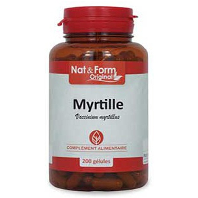 NAT & FORM Original Myrtille - 200 Gélules