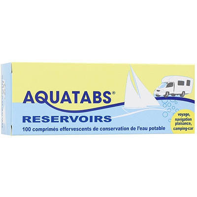 AQUATABS 100 Comprimés Effervescents